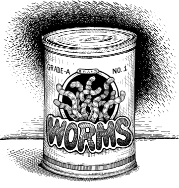 can of worms meaning